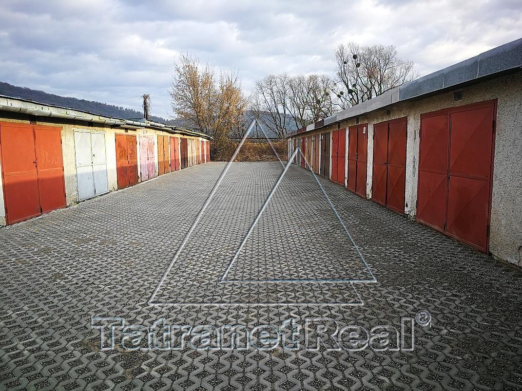 Garáž-Predaj-Humenné-9900.00 €