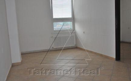 Na predaj samostatné kancelárske priestory v Humennom