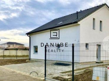 Predaj 5-izbového rodinného domu pred dokončením v Bratislave- Podunajských Biskupiciach.