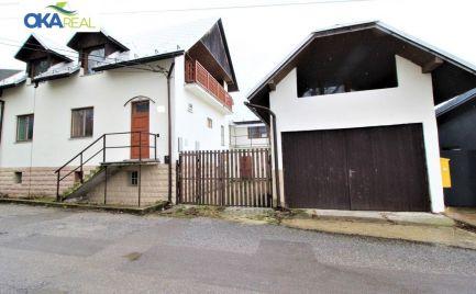 TOP PONUKA !!! Na predaj 3 podlažný rodinný dom vhodný na podnikanie v Tvrdošíne