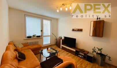 Exkluzívne APEX reality prenájom čiastočne zariadeného 2i. bytu na Závalí, 50 m2, 2.p./4.