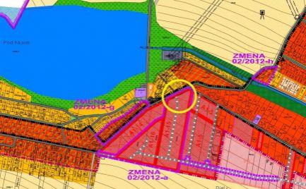 Stavebný pozemok 7á Slnečné diely Suchá n/P.