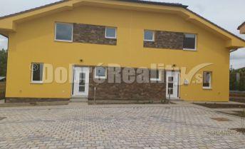 Novostavba - 4 izb.rodinný dom s krbom v obci Veľké Zálužie