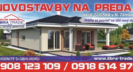 Novostavby bungalov výstavby na kľúč Nové Zámky Cena LagunaN12 od 160 000€ pozemok:414m2.
