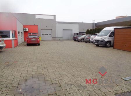 Na prenájom výrobno-skladový priestor s administratívou v Trnave