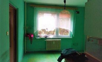 2 izbový byt, vhodný na rekonštrukciu podľa vašich predstáv.