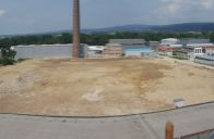 Veľký k výstavbe pripravený priemyselný pozemok