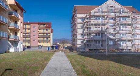 Veľký 2-izbový byt v štandarde v projekte Muškát