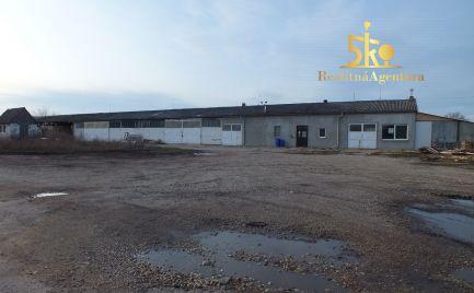 Výrobno skladové priestory v obci Čalovec