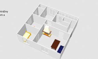 Na predaj 3 izbový veľkometrážny byt v blízkosti autobusovej a vlakovej stanice v Trnave.