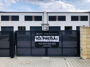 Predaj štyri 3 izbové dvojpodlažné byty v Lehniciach, časť Veľký Lég, okres Dunajská Streda.