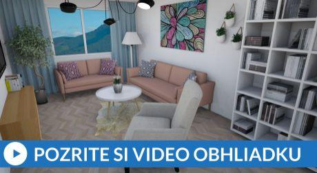 EXKLUZÍVNE Priestranný 3-izbový byt s exkluzívnym výhľadom na mesto
