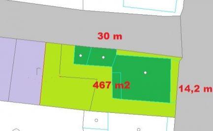 Rezervovaný - Exkluzívne len u nás predaj - Rodinný dom 3+1, pozemok 440  m2,  18 km od Banskej  Bystrici cena 61 000€