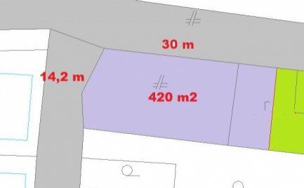 Rezervovaný - Exkluzívne len u nás predaj - Stavebný pozemok  420 m2, 18 km od  Banskej Bystrice – cena 30 000€