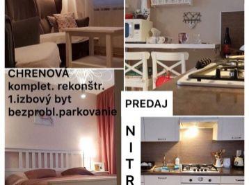 Predaj pekného- zrekonštr.1.izb bytu v Nitre na Chrenovej