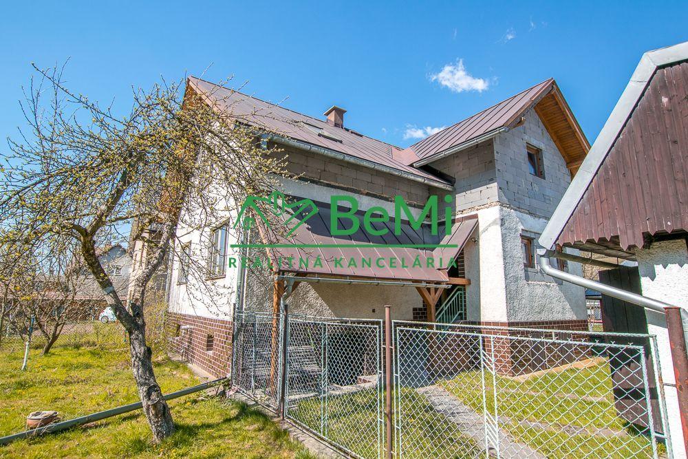 Rodinný dom-Predaj-Zborov nad Bystricou-87 500 €