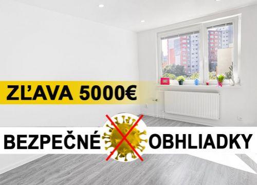 Najlacnejsibyt.sk: BAV - Petržalka, Budatínska ul., 4-izbový, 86,42 m2, kompletná rekonštrukcia Marec 2020