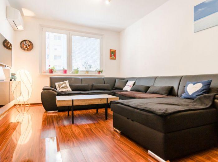 MLYNAROVIČOVA, 3-i byt, 74 m2 - BLÍZKOSŤ CENTRA BRATISLAVY, klimatizácia, KOMPLETNÁ REKONŠTRUKCIA