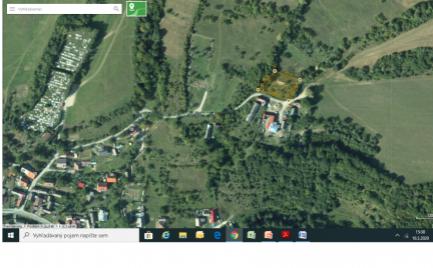 Pozemok v obci Zubák, okres Púchov