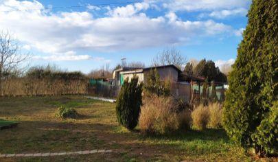 Na predaj rekreačný domček v Komárne, časti NOVÁ OSADA