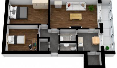 Na predaj 3 izb. byt v Karlovej Vsi, Púpavová ul.