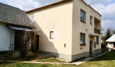 Veľký rodinný dom v obci Rudlov - okres Vranov n. Topľou