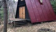Chata na Richňavskom jazere pri Banskej Štiavnici