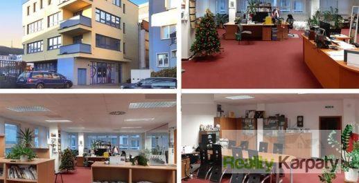 Na prenájom administratíva 2x200m2/ showroom / sklady v TOP lokalite BA-N.Mesto