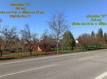 Záhradka - Záhradkárska osada Galanta - Šaľská