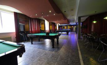 Ponúkame na predaj nebytový priestor so zázemím 208 m2 - billiard club - Pribišova ulica, možnosť parkingu.