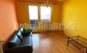 Na predaj veľký 3-izbový byt s lodžiou na Sídlisku Západ v Rimavskej Sobote