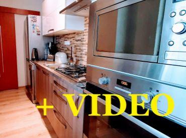 Predané. ViP Video. Byt 3+1 67 m2, dva balkóny, čiastočne prerobený, zariadený - Zvolen - Sekier