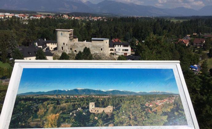 Liptov Nízke Tatry Liptovský Hrádok predaj dvoch exkluzívnych investičných stavebných pozemkov o výmere 2 305 m2 pri zámockom areáli Grand Castle