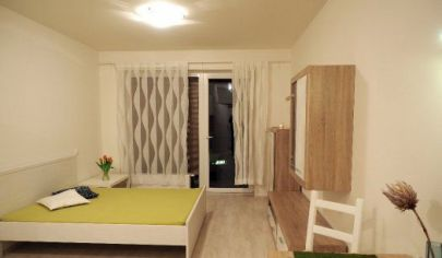 1-izbový byt s balkónom v novostavbe na Slnečniciach
