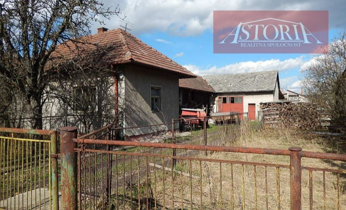 Výhradne v našej RK - Na predaj rodinný dom v obci Žabokreky