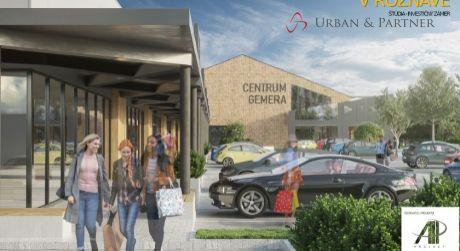 Investičná príležitosť - obchodné centrum s územným rozhodnutím