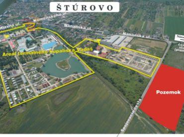 Štúrovo - Lukratívny, slnečný pozemok 35 852 m2 .