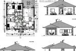 Rodinné domy v novej časti Hviezdoslavova