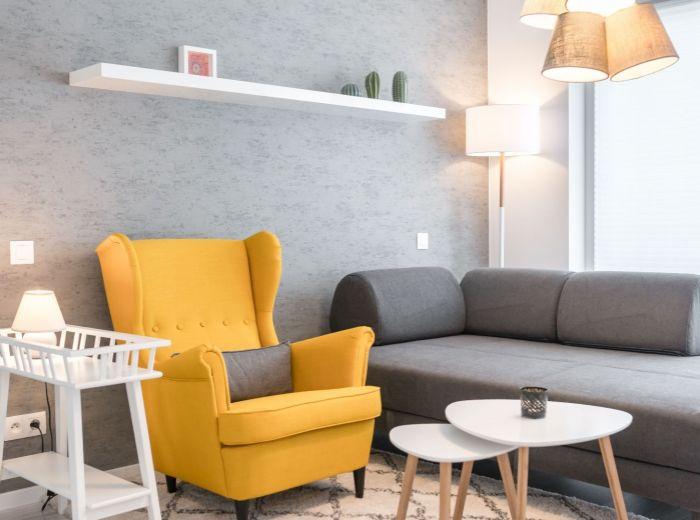 ZUZANY CHALUPOVEJ, 1-i byt, 29 m2 – moderná novostavba, veľká loggia, ELEGANTNE a ŠTÝLOVO zariadený