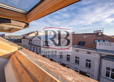 Apartmánový byt na Gunduličovej ulici pri Prezidentskom paláci v Bratislave