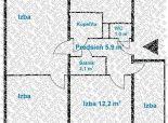 3,5 izb. byt, ONDREJOVOVA ul., zrekonštr. podľa Vašich predstáv
