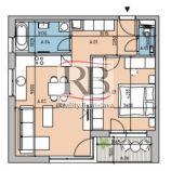 Veľkorysý 2i byt v Projekte Bory bývanie II