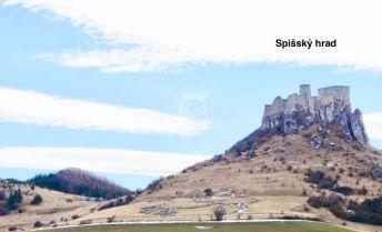 Stavebný pozemok s výhľadom na Spišský hrad