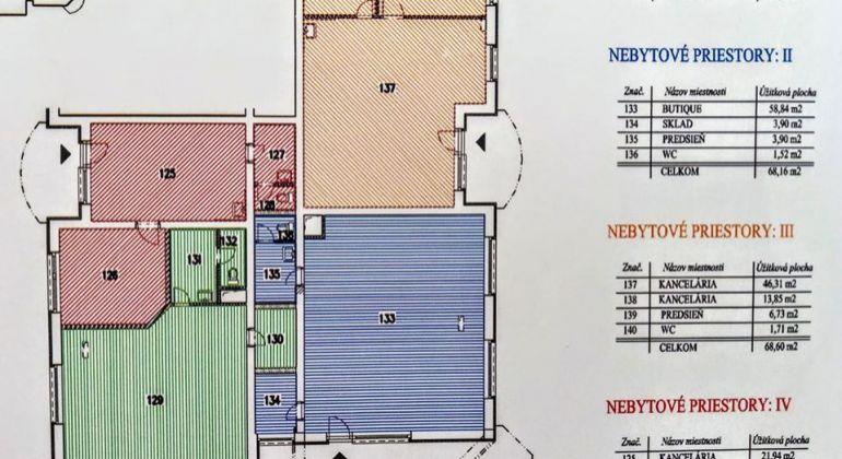 Ponúkame na prenájom 3 x obchodné alebo kanelárske priestory v Trenčianských Tepliciach..