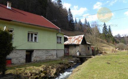 Rodinný domček/chalupa v horskom prostredí - Nízke Tatry
