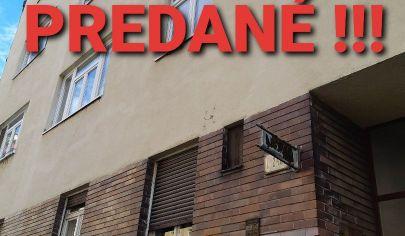 REZERVOVANÉ ! Na predaj priestranný 2 izb. byt, Bratislava - Staré Mesto