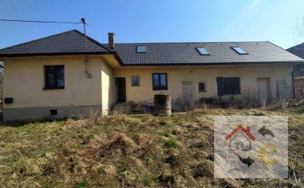 PREDANÉ V NOVEMBRI 2020.....Na predaj rodinný dom v obci Ďurďoš, 26 km od Prešova s nadštandardne veľkým pozemkom