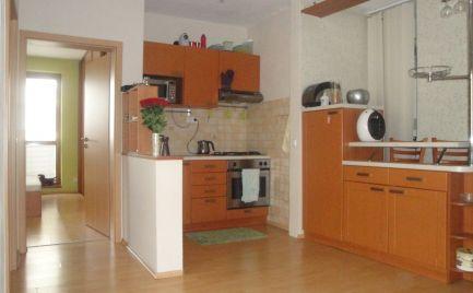 Na prenájom : 2 izbový byt v NOVOSTAVBE-aj s Garážou