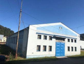 Výrobné a skladové priestory haly 2500 m2, prenájom, Kysuce