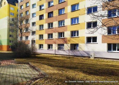DELTA - 1-izbový byt na predaj Poprad - Západ - TOP lokalita